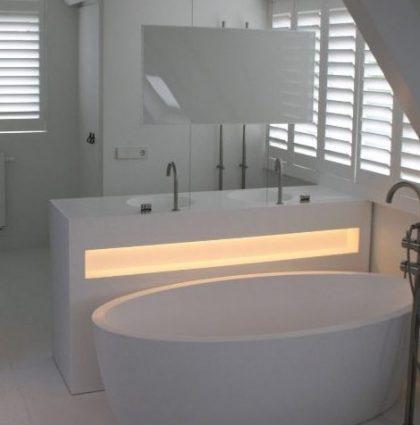 Badkamer van Hi-Macs