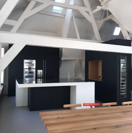Keuken in Loft